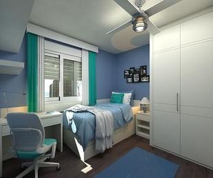 Dormitorios juveniles: varios espacios en una misma habitación
