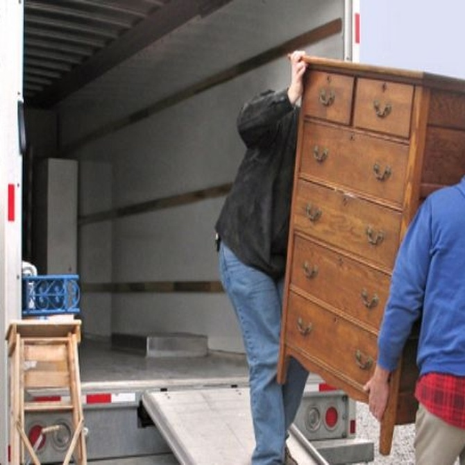 La mudanza: de la casa actual a la furgoneta