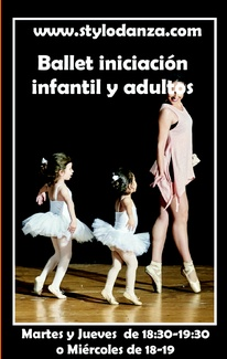 Comienzan las clases de Ballet infantil y adultos