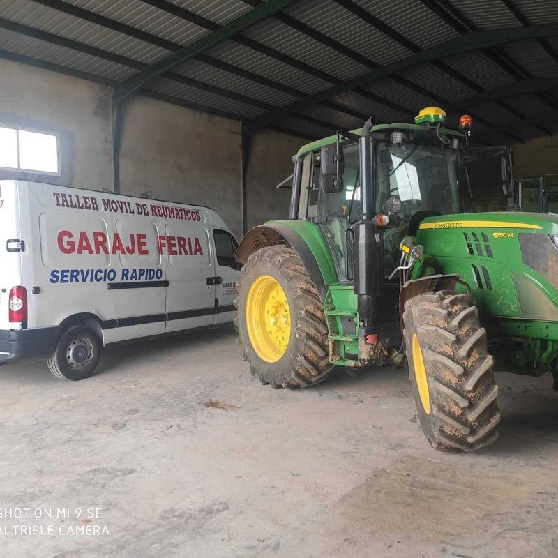 Servicios agrícolas a domicilio.: Servicios de Garaje Feria