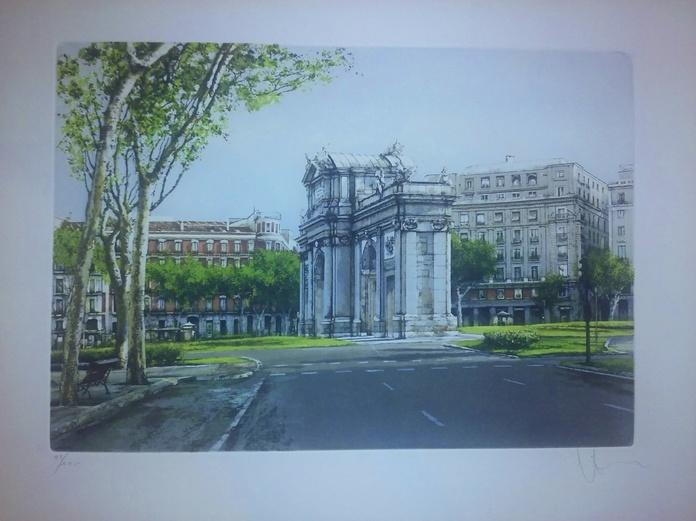 Descubriendo Madrid con Venancio Arribas: Servicios de Cano 1907