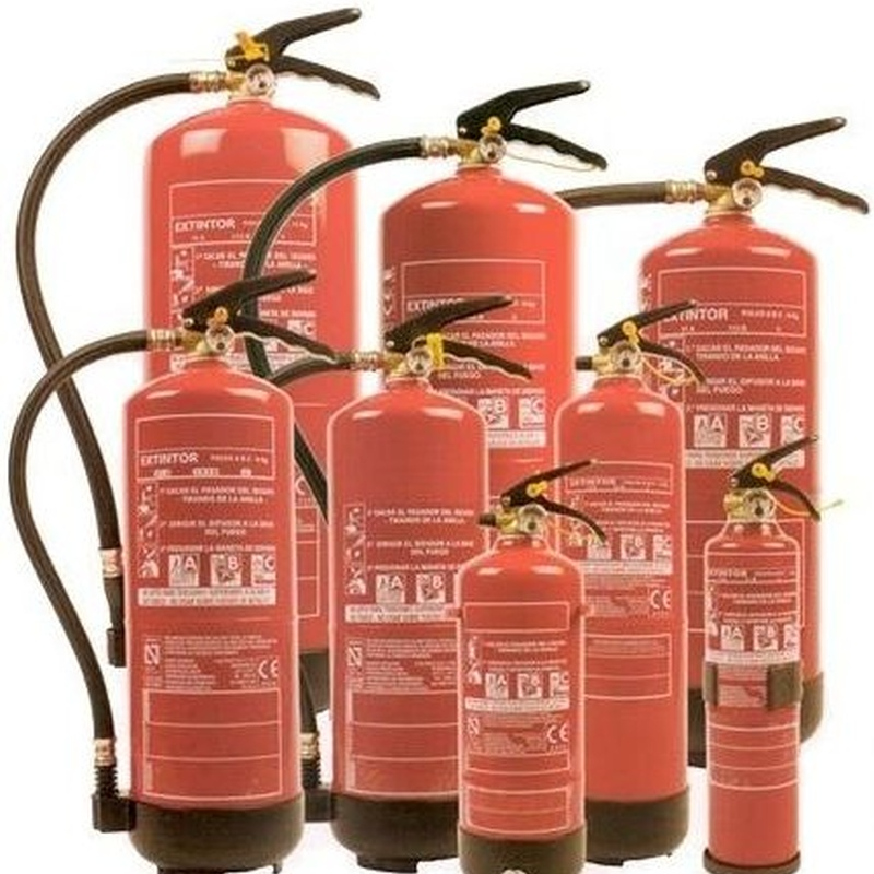 División de Extinción: Servicios de Extintores Proinse