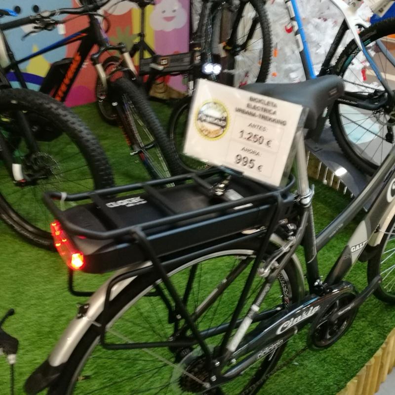 Bicicleta electrica urbana CICLOTEK cinzia: Productos de Bikes Head Store