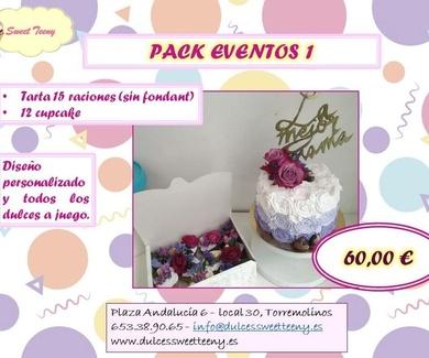 Pack especial para eventos