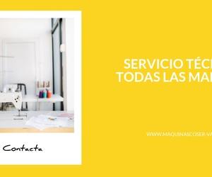 Reparación de máquinas de coser en Valencia