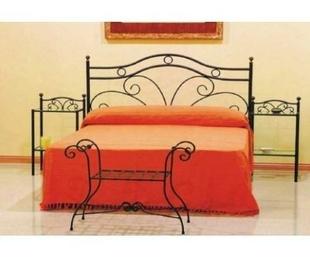 Muebles de forja: complementos de dormitorios