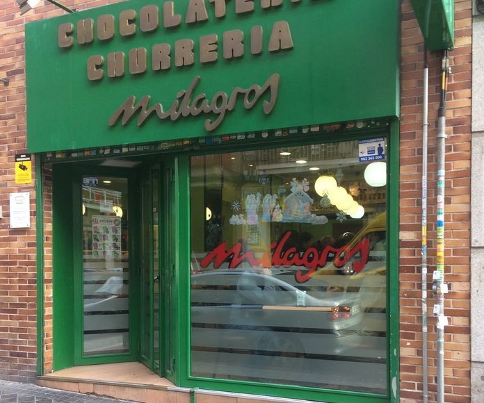 Nuestro Local en C/ Cardenal Silíceo: Catálogo de Chocolatería Milagros, S.L.