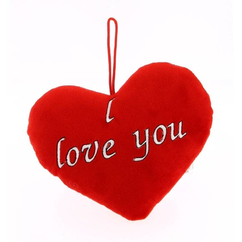 "PELUCHE CORAZON ""I LOVE YOU"" 20CM REF: 1053 PRECIO: 1.80€"