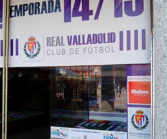 Bravo Deco con el Real Valladolid