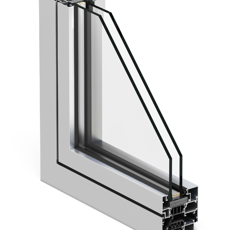 Sección ventana COR 70 Industrial