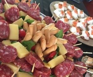 Menús canapés y piscolabis