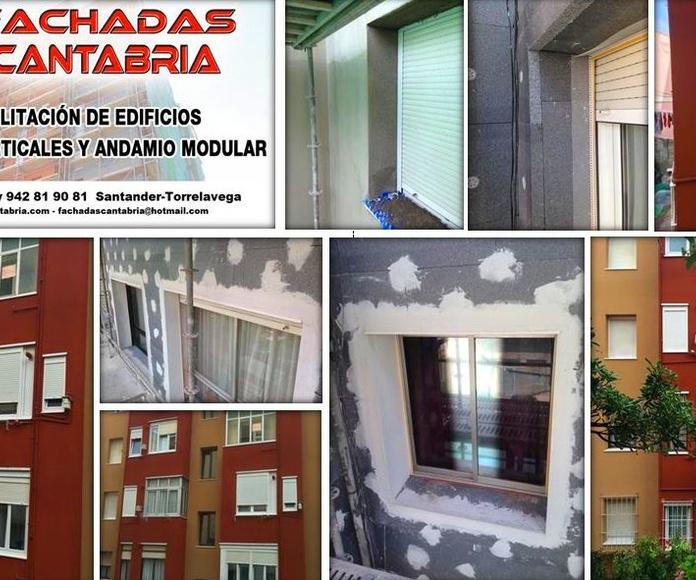 Rehabilitación energética de edificios de Santander-Torrelavega.