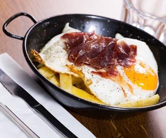 Ensaladas: Carta de Restaurante La Fragua de Leganés
