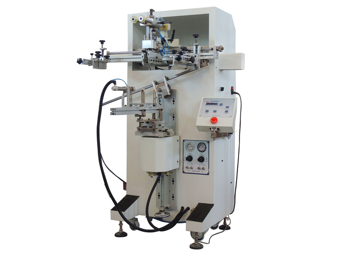 Máquina de serigrafia S300 para impresión cilindrica/oval/palna