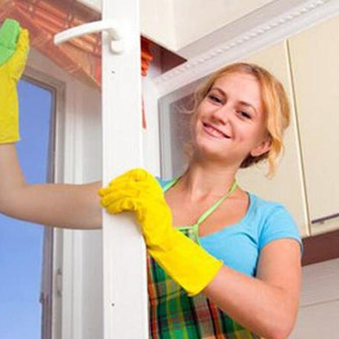 Organízate para limpiar tu casa