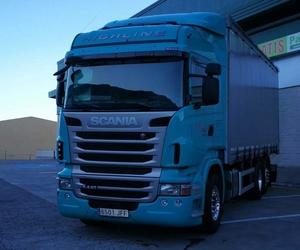 Transporte de mercancías por carretera en La Palma: Transportes Fran