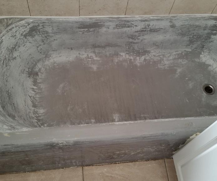 Restauración y esmaltado de bañeras. Antes y Después: Servicios de Restauraciones Five Stars