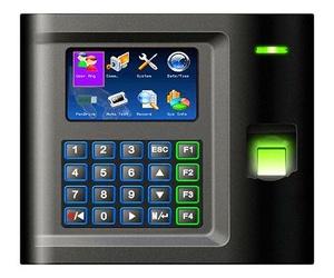 Lector biométrico autónomo de presencia, sistema de control horario.