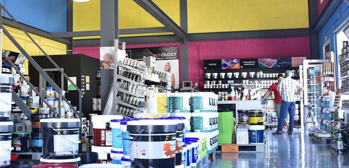 Tienda de pinturas para exterior e interior en Tarifa