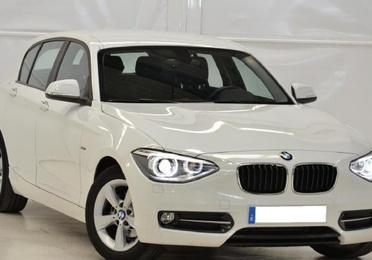 BMW 116D SPORT BLANCO