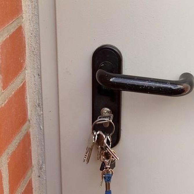 ¿Qué hacer cuando pierdes las llaves de casa?