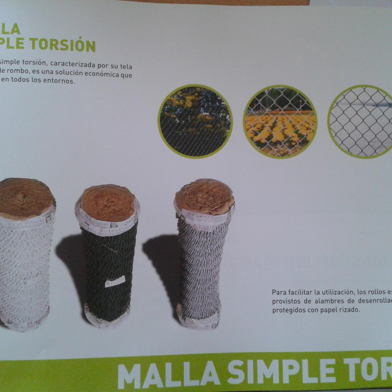 Malla simple torsion