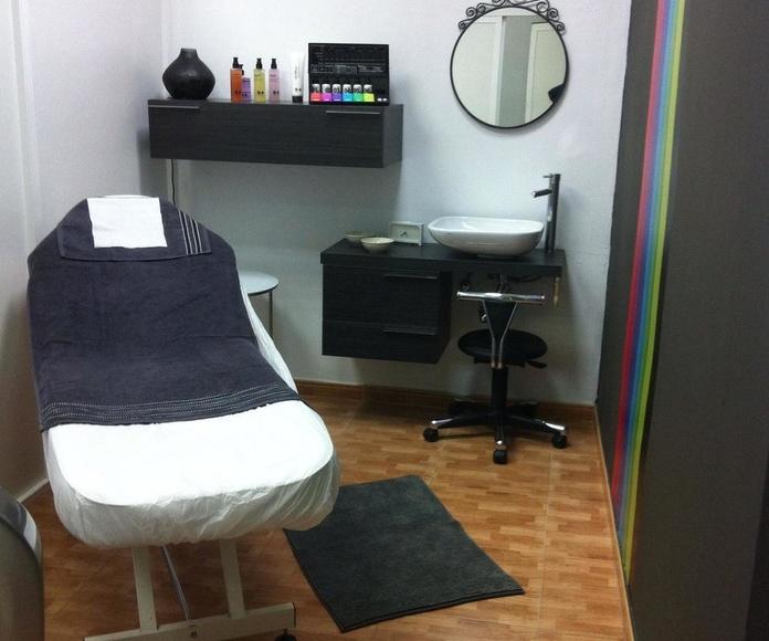 Otros tratamientos: Peluquería y Estética de Salón de Belleza Unisex Pasarela