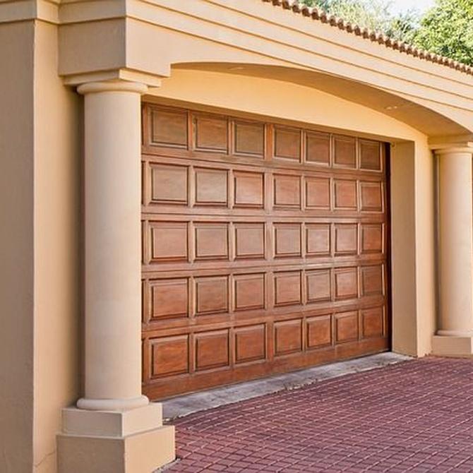 Consejos para elegir tu puerta de garaje