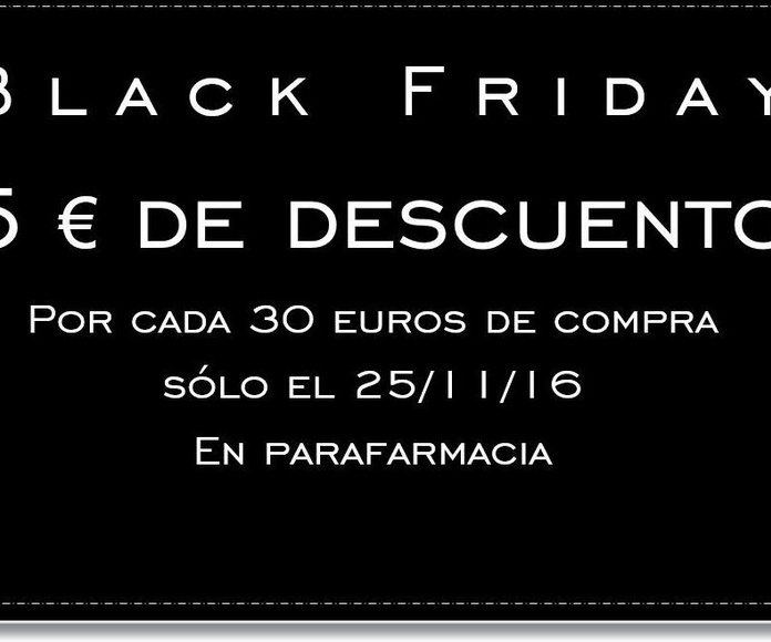 ¡Black Friday!