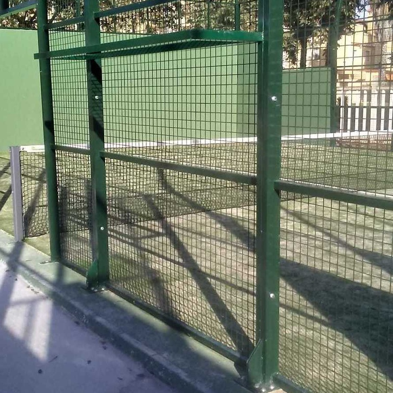 Instalaciones deportivas: Productos y Servicios de Mallas Aroa