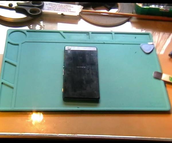 Cambio de flex principal del Sony Xperia Z2