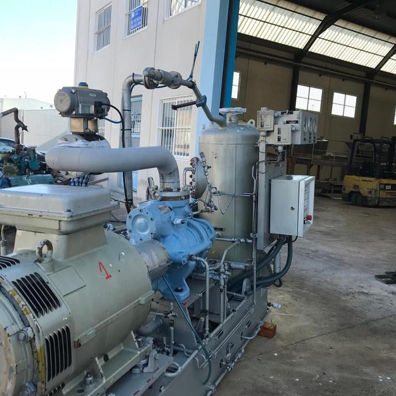 Compresores de amoniaco:  de MAQUIMUR