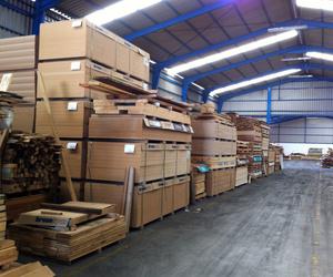 Amplio stock de maderas y tableros para un servicio inmediato Toledo