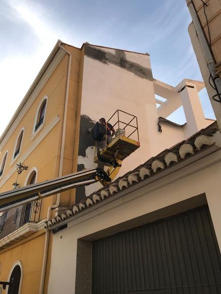 Pintura de fachadas: Servicios de Fachadas Monzón