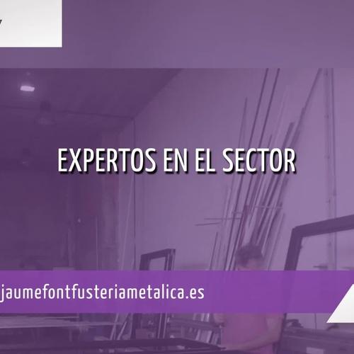 Ventanas de PVC en Mallorca: Jaume Font Fustería Metálica