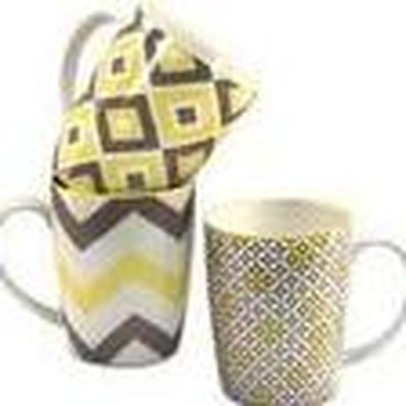 tazas amarillas