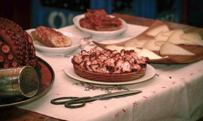 Nuestras Raciones: Nuestros platos de A Pulpeira de Melide de Lola