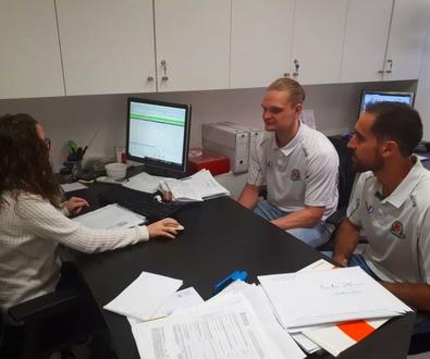 Los jugadores del TAU Castelló confían en Gestors Associats Porcar Fulleda