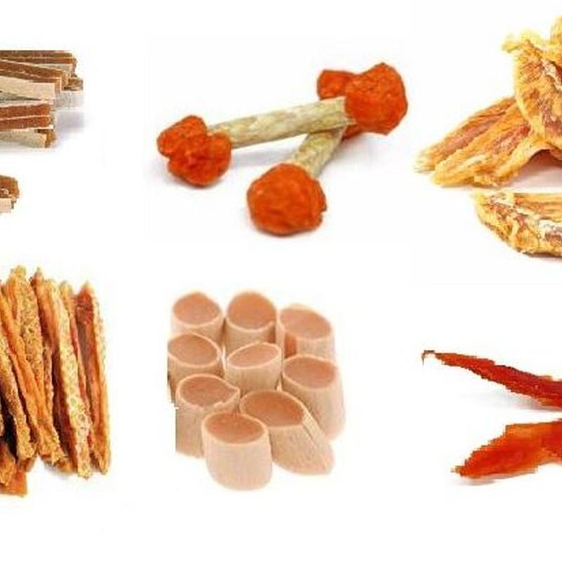 Todo tipo de snacks naturales
