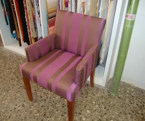 Recogida de muebles para el retapizado