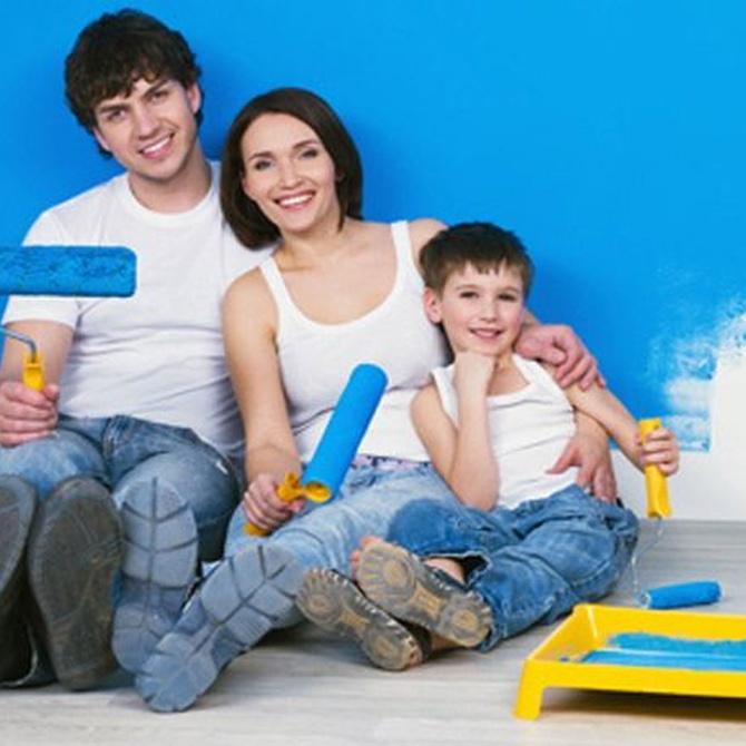 Cómo pintar la casa