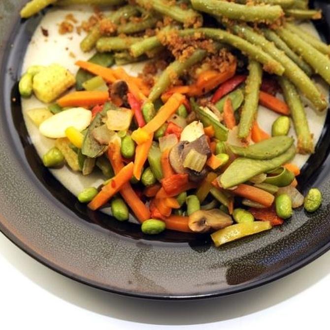 Verduras en la alimentación infantil