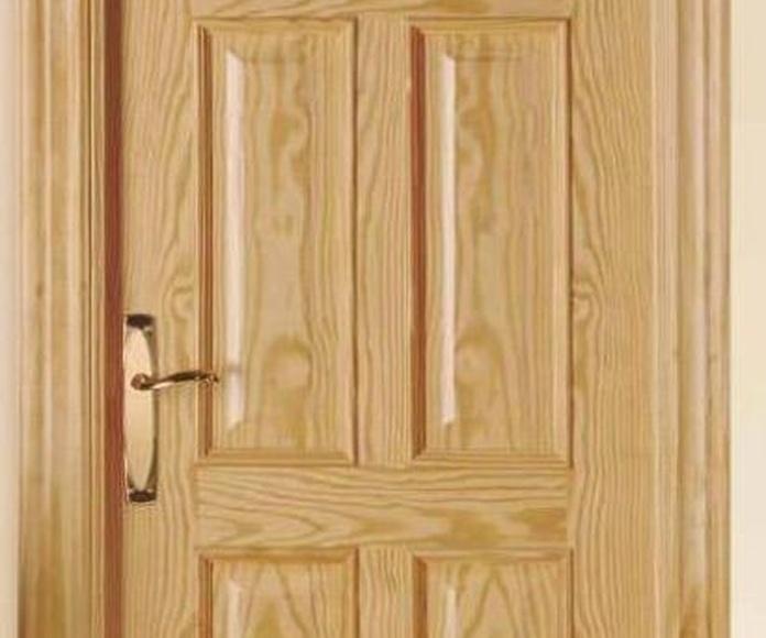 Puertas plafonadas: Servicios de P y V Carpinteros Ebanistas