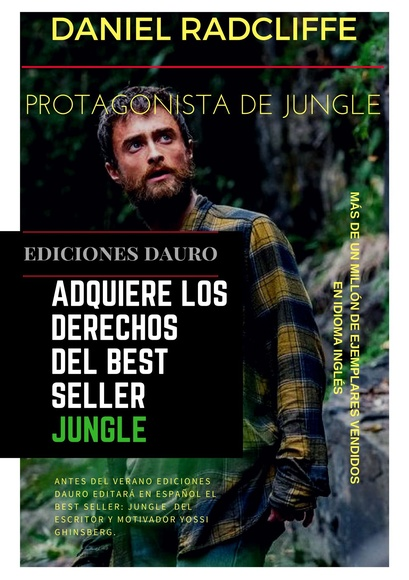 Publicación del best seller Jungle del autor Yossi Ghinsberg.