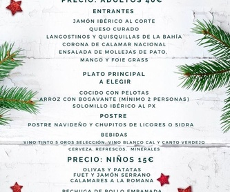 Menu Semana Santa: Carta y Menús de Restaurante Bonavista