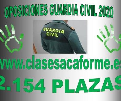 2154 PLAZAS DE GUARDIA CIVIL
