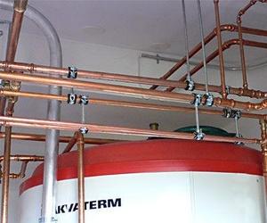 Instalaciones de agua y gas.