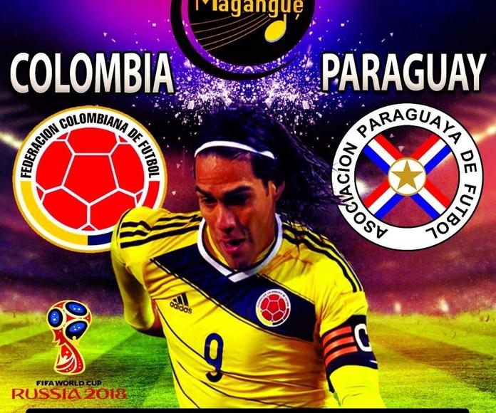ESTE JUEVES DE FIESTA PAISA , CON LA TRICOLOR (COLOMBIA vs PARAGUAY)