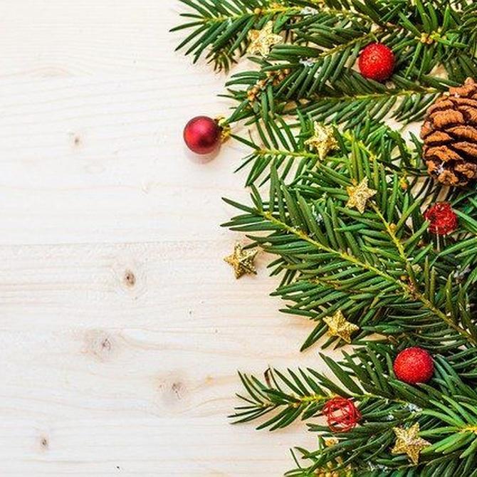 Alternativas al árbol de Navidad