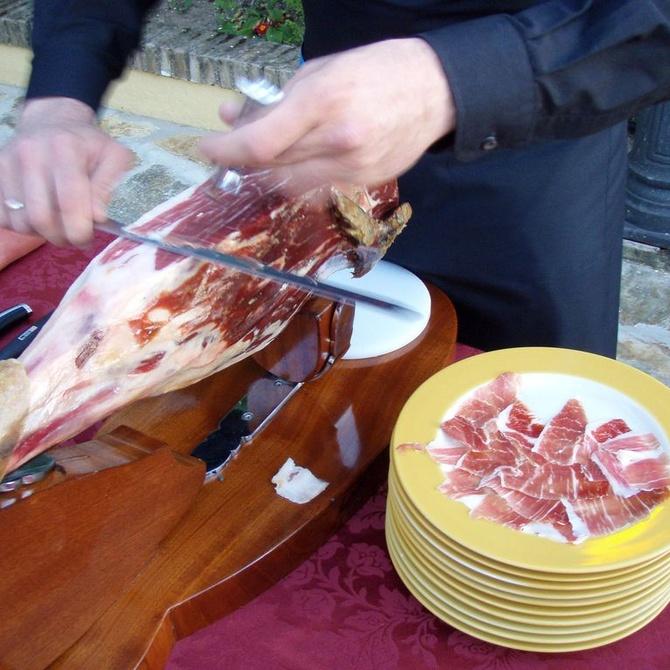 Consejos para preparar una ración de jamón ibérico